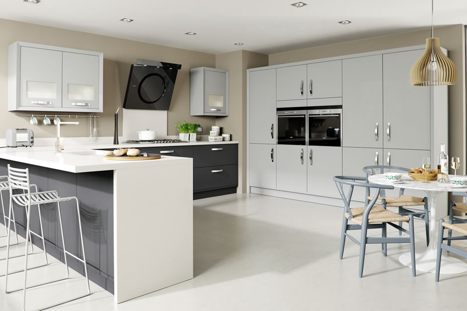 Marpatt Kitchen Doors Suppliers To The Trade - Matt grey kitchen doors